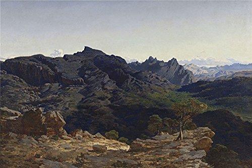 oil-painting-munoz-degrain-antonio-paisaje-de-la-sierra-de-las-agujas-tomado-desde-la-loma-del-cabal
