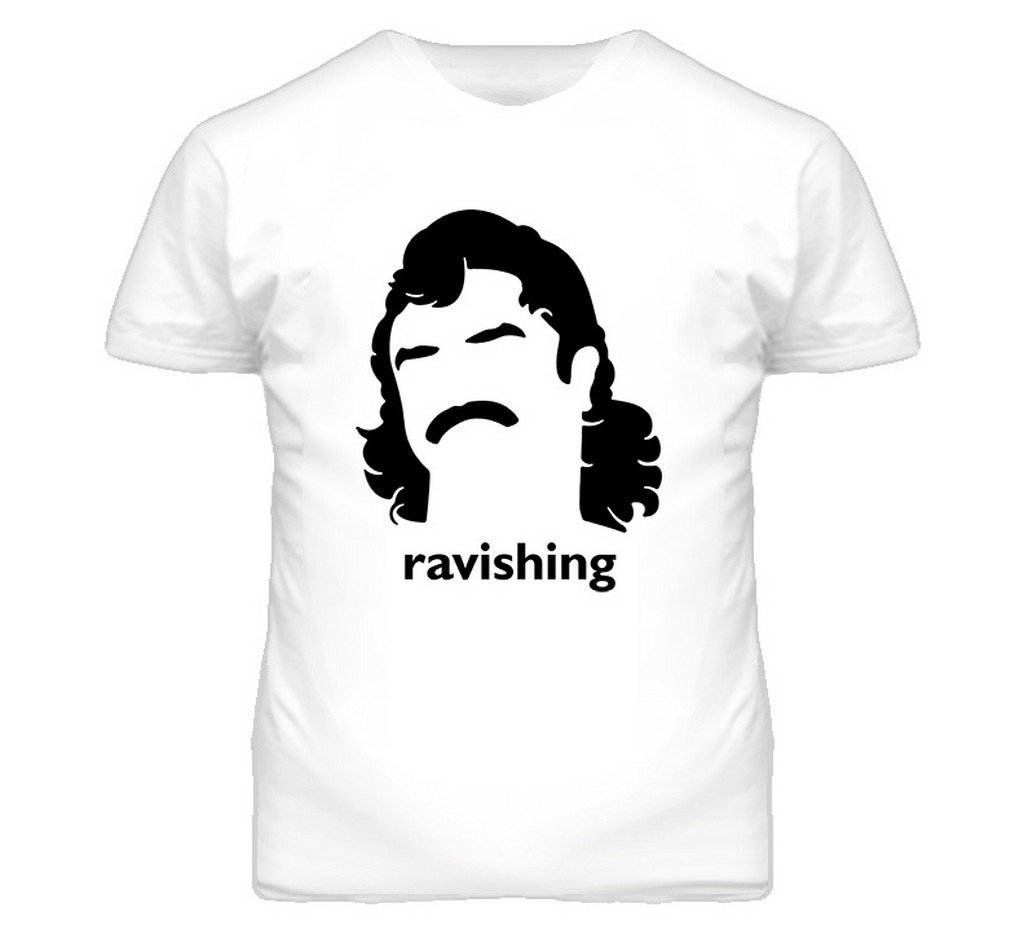 Ravishing Rick Rude Wrestling Legend Retro T Shirt M White