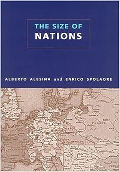 The Size Of Nations por Enrico Spolaore