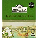 AHMAD TEA Jasmine Green Teabags, 100 Count