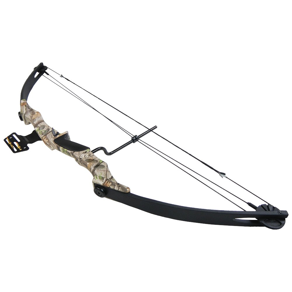 iGlow 55 lb Tree Camouflage Camo Archery Hunting Compound Bow 175 150 80 50 40 lbs Crossbow by iGlow