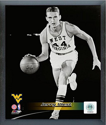 690026237c1 Image Unavailable. Image not available for. Color  Jerry West West Virginia  Mountaineers ...