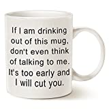 LaTazas MAUAG® Mug Inc Designs, Funny Christmas Gifts Coffee Mug in Natural, 11 Oz Capacity.  Each mug is microwave & dishwasher safe.  The perfect size to enjoy your morning beverage and the perfect gift for your loved ones on that special day. ...