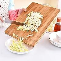 【耐用易清洗】Yandex 天然楠竹切菜板 切菜板 抗菌防霉厨房竹砧板 工艺菜板 碳化菜板 家用厨具 (20*30*1.8)