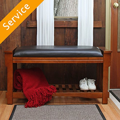 Storage Bench Assembly (Outdoor Accent Table)