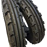 (2 TIRES + 2 TUBES) 6.00-16 ROAD CREW 8 PLY KNK30 Farm Tractor Tire 60016 6.00X16