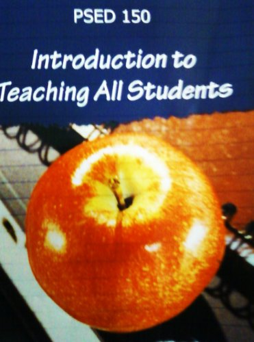 Introduction to Teaching All Students