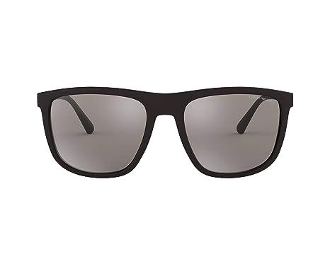 Emporio Armani 0EA4124 Gafas de sol, Matte Black, 57 para ...