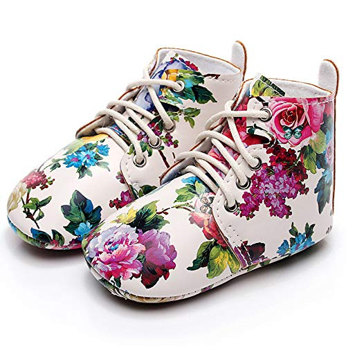 Isbasic Baby Boy Girl Martin Boots Rubber Sole Toddler Casual Shoes Rain Boots