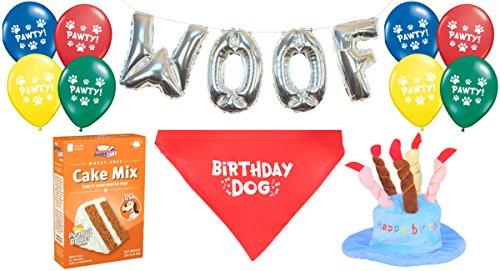 Dog Birthday Decorations Kit by Blast in a Box