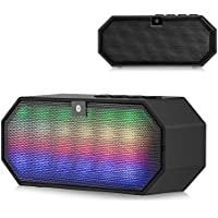 BLUETOOTH LED MINI DISCO BLOCK COMPACT PORTABLE SPEAKER - Bluetooth V3.0 technology allows your Alcatel smartphone to enjoy music and hands-free function