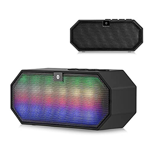 BLUETOOTH LED MINI DISCO BLOCK COMPACT PORTABLE SPEAKER - Bluetooth V3.0 technology allows your Nokia smartphone to enjoy music and hands-free (Nokia Lumia 650 Phone)