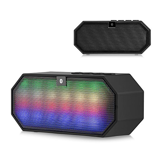 Price comparison product image BLUETOOTH LED DISCO BLOCK PORTABLE SPEAKER For Samsung Android Smartphone