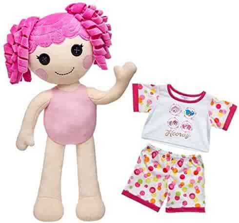 df04bd2e3ee Build a Bear Crumbs Sugar Cookie Lalaloopsy Doll 2 pc. PJs Outfit 19 in.
