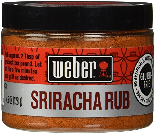 Weber Seasonings Sriracha ounce 128g