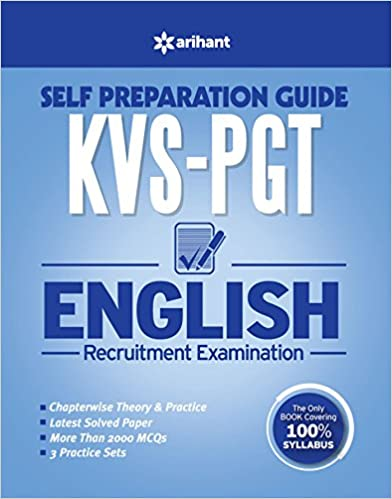 KVS PGT English Guide and MCQ