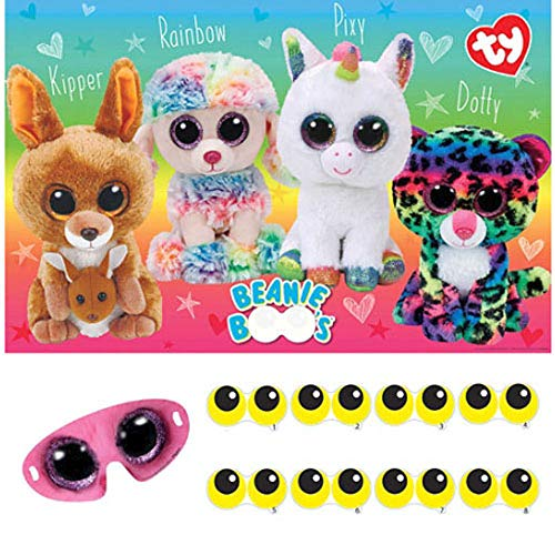 (Beanie Boos Party Game Poster)