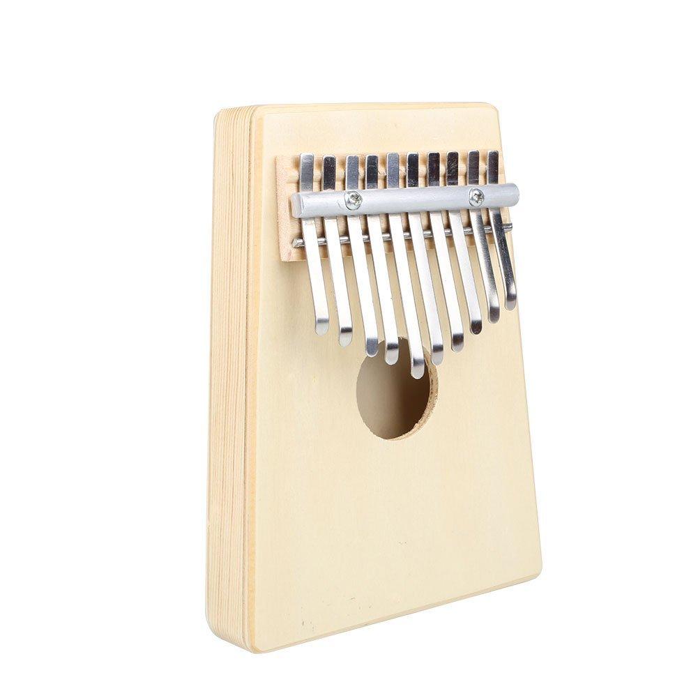 Forfar Thumb Piano 10 Key Pine Finger Music Pocket Piano Kalimba Mbira Education Toy Musical Instrument FF-78832