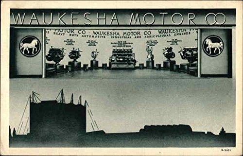 Waukesha Motor Co Waukesha, Wisconsin Original Vintage - Motor Waukesha