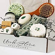 Herb + Stone Apothecary- Spa Kit Subscription Box - Organic, Vegan, Crystal Infused - Self Care Products - Han