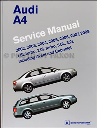2002-2008 Audi A4 Repair Shop Manual: Audi: 9780837615745: Amazon.com: Books