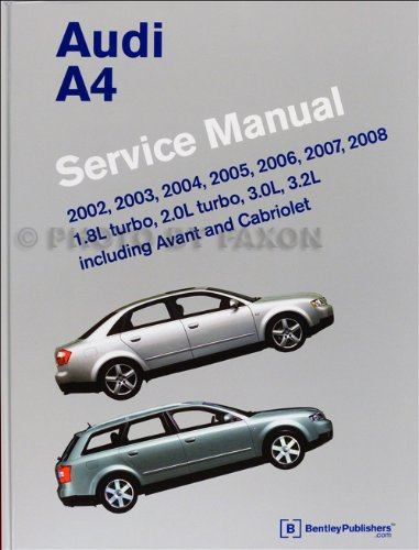 2003 audi a4 owners manual - 5