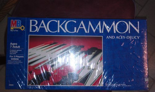 Backgammon and Acey-Deucy by MB Key to Fun