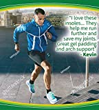 Dr. Scholl's Running Insoles Absorb Shock and