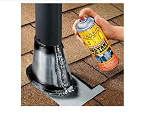 Rescue 911 Black - Instant Gutter, Roof, Concrete & PVC Sealer