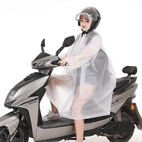 Poncho Randonnée Adulte Tourisme Simple Imperméable Électrique Siamois Voiture À De Mode Vestes Dame Portable Pluie Air Plein Capuche En Blanc Casual 5OnPW4qPF