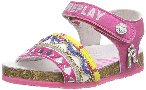 Replay Baby Mädchen Hollies Sandalen Pink (Fuxia)