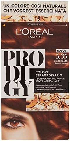 L Oréal Paris PRODIGY colorazione permanente 5.35 Chocolate ...