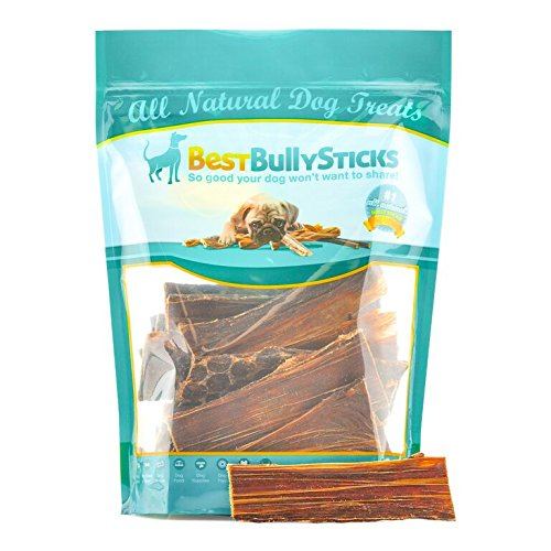 Beef Sticks Dog Treats - 6-inch Joint Jerky Dog Treats by Best Bully Sticks (25 Pack) All Natural Beef Dog Treats