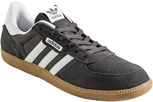cheap sale reliable buy cheap amazing price adidas Originals Men's Leonero Fashion Sneaker Dark Grey Heather/White new sale online IAn4EL1W