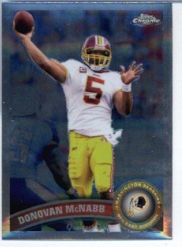 2011 Topps Chrome Football Card #TC198 Donovan McNabb - Washington Redskins - NFL Trading Card