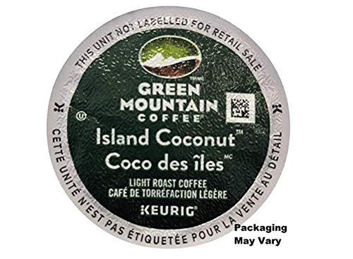(Green Mountain Coffee Island Coconut K-Cup (96 count) Packaging May Vary )