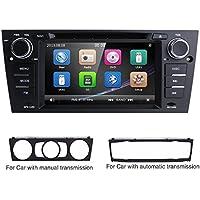 Hizpo For BMW E90/2006-2011 E91/2006-2011 E92/2006-2011 E93 7 Inch Car Stereo Multi-Touch Screen Radio CD DVD Player 1080P Video Screen