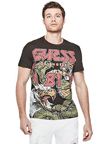 GUESS Factory Men's Lemwick Graphic Crew Tee