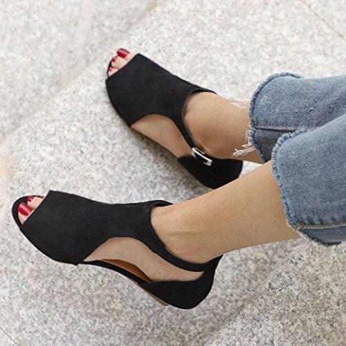 Con Sandalias Cuña Mujer Zapatos De Chancletas Tacones Calzado 9IWD2HE