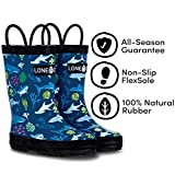 LONECONE Rain Boots with Easy-On Handles in Fun