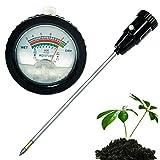 TC Long Electrode Soil pH Level Meter Moisture Tester 295mm Metal Probe Plant Crops PHM02