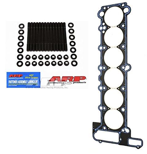 ARP Stud Kit & Athena Head Gasket TH: 2mm D: 89mm For 92-96 BMW M50B25 24V