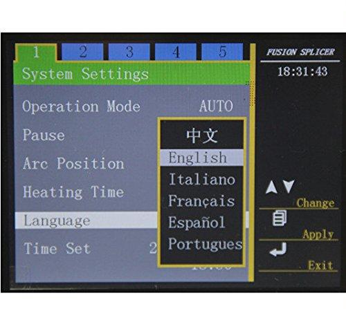 komshine gx36 Fusion Splicer igual a Fujikura fsm-70s Cable de empalme máquina: Amazon.es: Bricolaje y herramientas