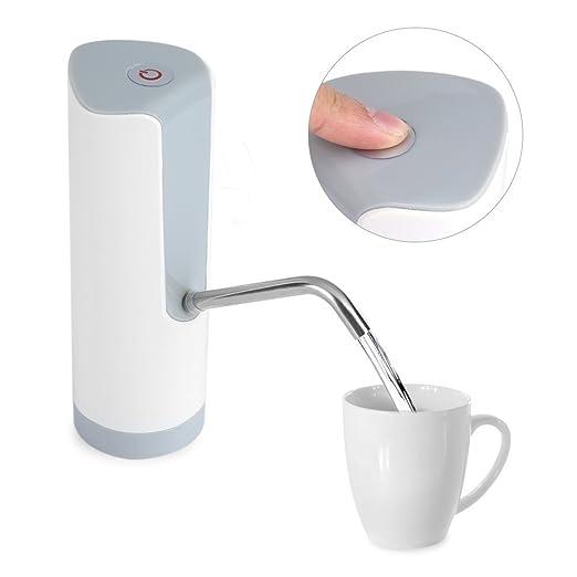 Agua Potable Automática Eléctrica Bomba Dispensador de Agua Potable Botellas Con Botón Superior de Interruptor Para Mayoría de Agua para Hogar Cocina ...