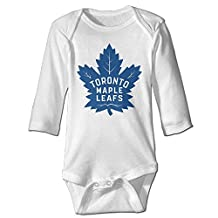 Toronto Maple Leafs Awesome Baby Onesie Bodysuit Climb Clothes Romper For Baby