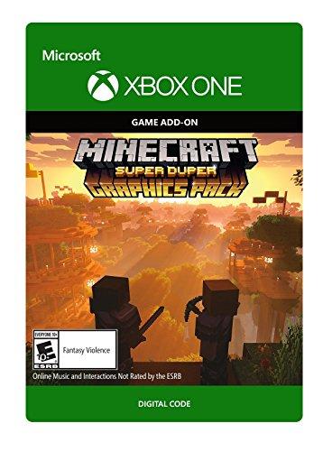 Amazon com: Minecraft Super Duper Graphics Pack - Xbox One