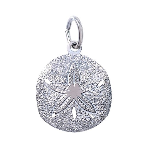 Rembrandt Charms Sand Dollar Charm, Sterling Silver