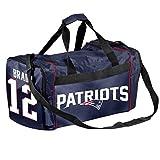 New England Patriots Tom Brady #12 Core Duffel Bag