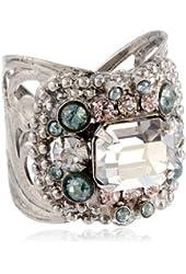 "Sorrelli  ""Crystal Rock"" Studded Crystal Band Ring"