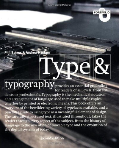 type & typography 2 edition /anglais by Phil Baines' 'Andrew Haslam (2005-10-17)